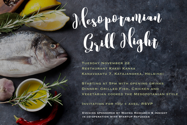 Invitation to Grill Night